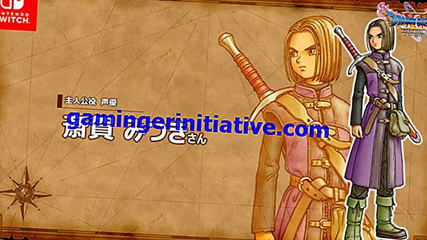 Hier sind die Voice Actors & Voice Cast von Dragon Quest XI