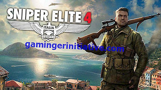 Sniper Elite 4: hoe je schoudergerichte moorden kunt krijgen