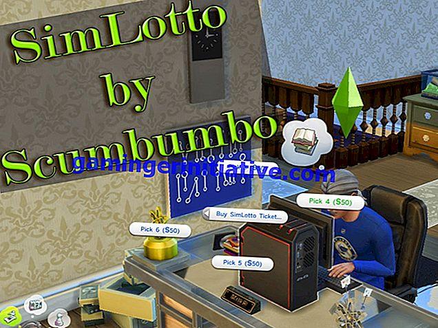 Sims 4 Seasons: Wie man im Lotto spielt (Lottoschein kaufen)