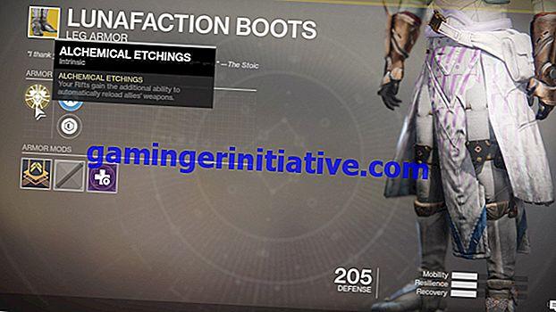 Destiny 2: Comment obtenir les bottes de démoniste exotique Lunafaction
