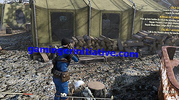Fallout 76: Wie man das Camp aufnimmt und bewegt
