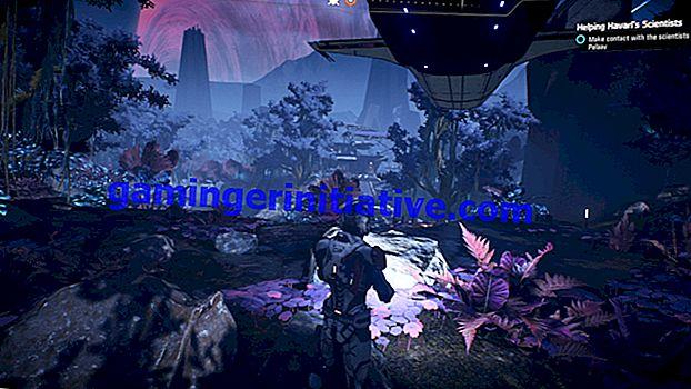 Andromeda Mass Effect: Panduan Havp Outpost