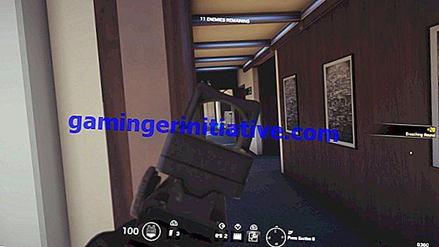 Rainbow Six Siege: comment se pencher pour viser vers le bas