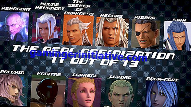 Kingdom Hearts 3: Wer sind die 13 Sucher der Dunkelheit (Wahre Organisation XIII)