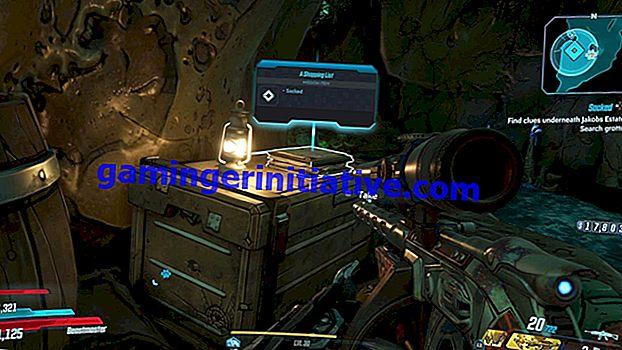 Borderlands 3 Sacked Side Mission: Wo man nach Hinweisen sucht
