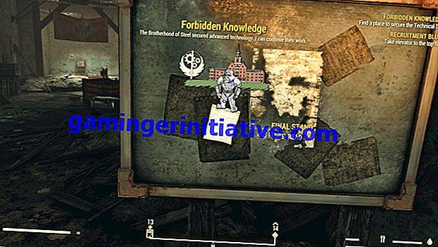 Fallout 76: Wie man technische Daten erhält und was es tut