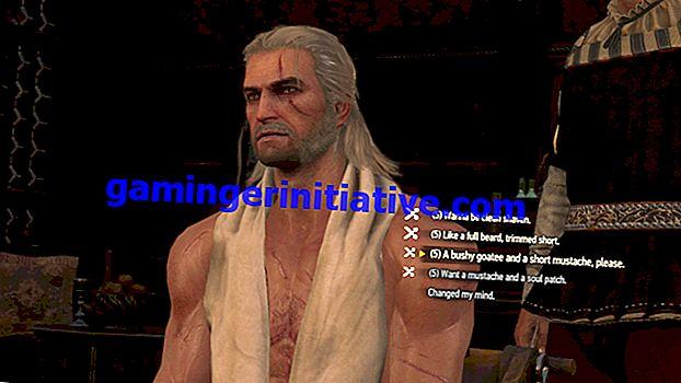 Witcher 3 이발 : 모든 이발, 헤어 스타일, 수염 모양