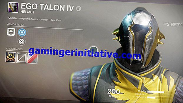 Schicksal 2: Wie man einen exotischen Jägerhelm von Celestial Nighthawk bekommt