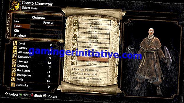 Dark Souls Remastered: quelle est la meilleure classe de départ