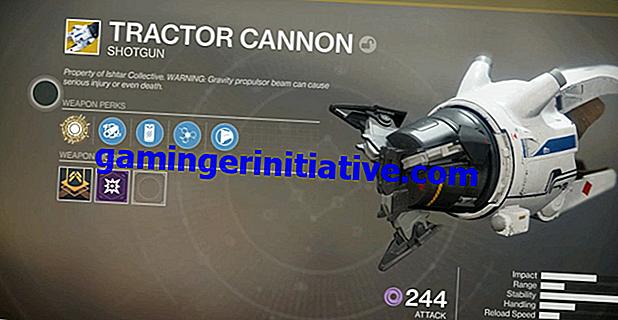 Destiny 2: Comment obtenir le fusil de chasse exotique Tractor Cannon