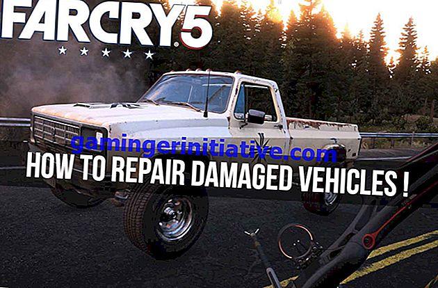 Far Cry 5: как ремонтировать автомобили