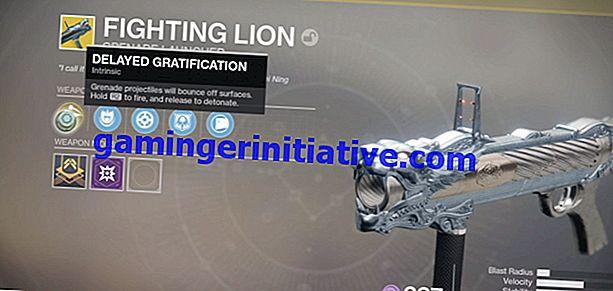 Destiny 2: Cara Mendapatkan Fighting Lion Exotic Grenade Launcher
