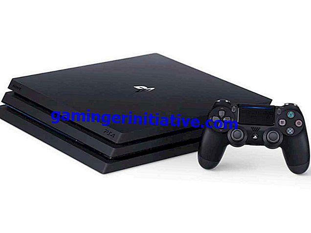 Comment réparer le problème de scintillement de l'écran noir PS4 Pro