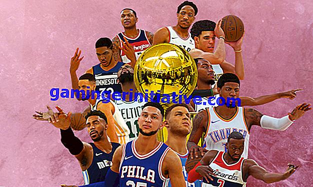 NBA 2K19: So erstellen Sie ein Team