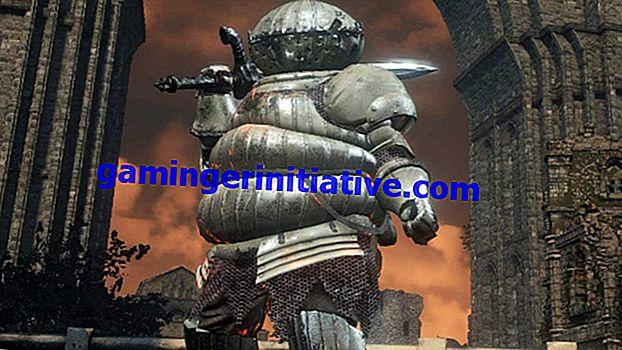 Dark Souls III: Wie man die Black Knight-Rüstung bekommt