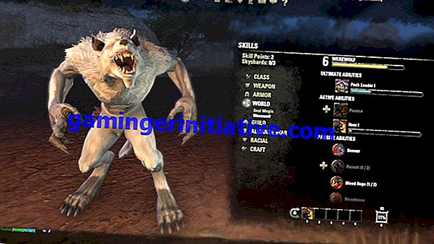 Elder Scrolls Online: Comment devenir un loup-garou