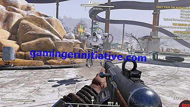 Fallout 76: Comment entrer dans le barrage de Grafton