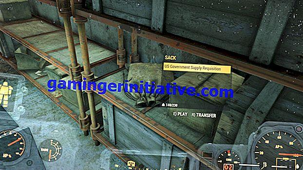 Fallout 76: Hur man får droppar från regeringen och vad de gör