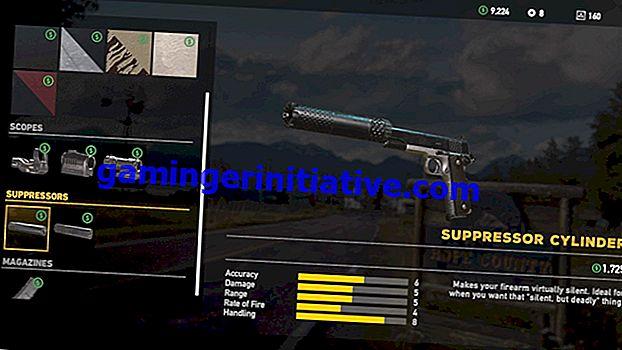 Far Cry 5: come personalizzare e aggiornare le armi