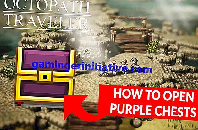 Octopath Traveller: So öffnen Sie lila Truhen