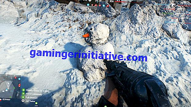 Battlefield V: Wie man einen Schneemann baut
