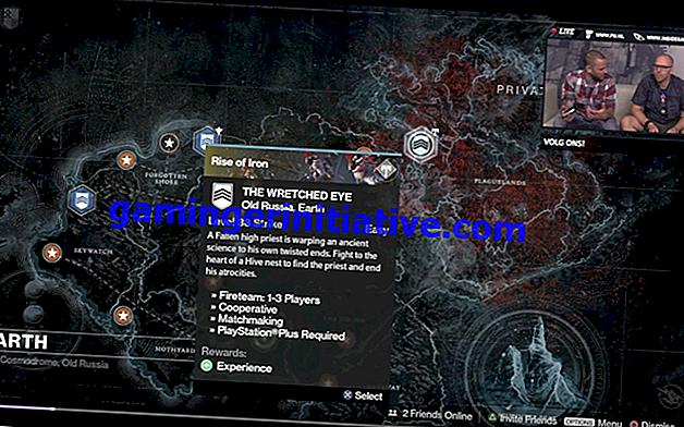 Destiny: Rise of Iron - Mappa di base di Plaguelands
