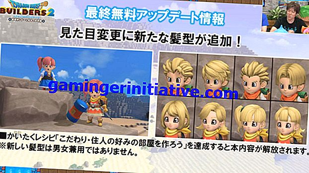 Dragon Quest Builders 2: So ändern Sie Frisuren
