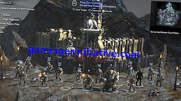 미들 어스 섀도우 오브 워 : 게임 저장 방법