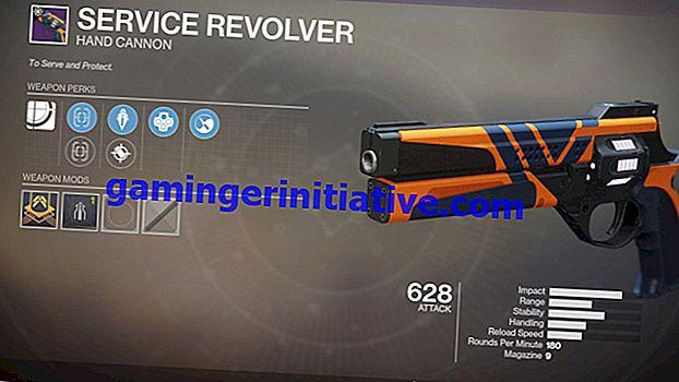 Takdir 2: Cara Mendapatkan Revolver Layanan