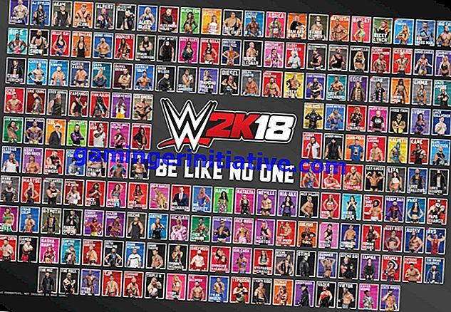 WWE 2K18: So erhalten Sie alle Zeichen