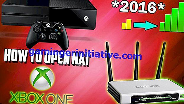 Cara Membuka Jenis Nat di Xbox One