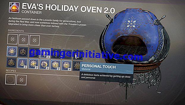 Destiny 2 Dawning: comment obtenir une touche personnelle