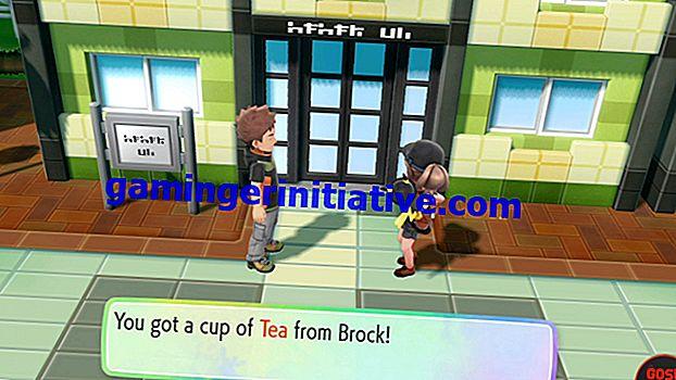 Pokemon Let's Go: Hur man får te