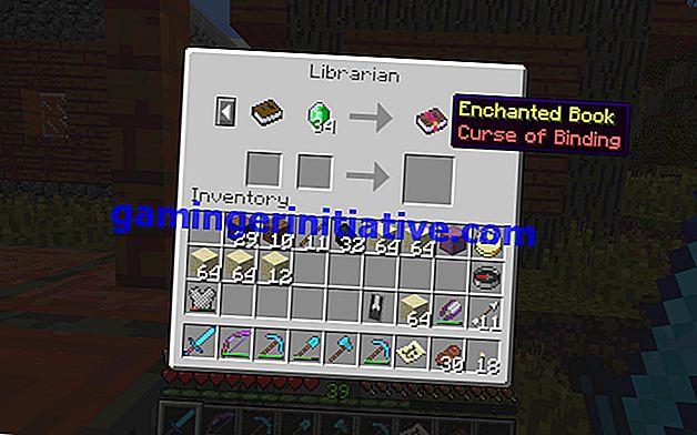 Minecraft: Cara Mempesona Item dengan Kutukan Mengikat dan Apa yang Dilakukannya