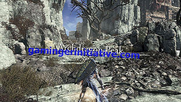 Dark Souls III: Wie man zum Archdragon Peak Guide kommt