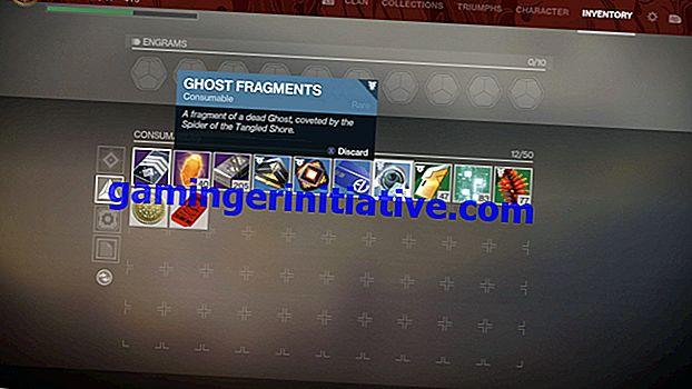Destiny 2 Forsaken: Wie man Geisterfragmente bekommt