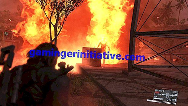 Metal Gear Solid V: TPP Guide - Cara Mengalahkan Orang yang Terbakar dalam Misi 20