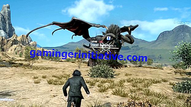 Final Fantasy XV: How to Beat the Dread Behemoth