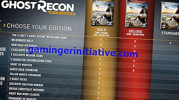 Ghost Recon Wildlands: Vergleich von Standard, Deluxe und Gold Edition