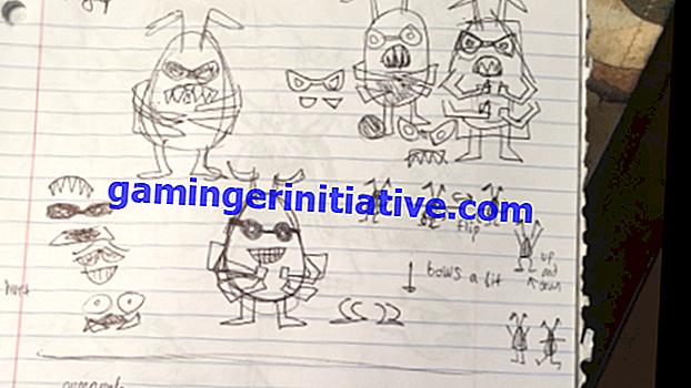 Die Konzeptkunst des Undertale Creator zeigt, wie sich die Charaktere entwickelt haben